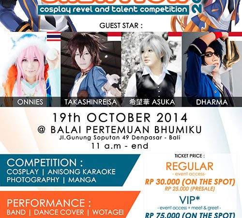 CREATION – Cosplay Revel and Talent Competition