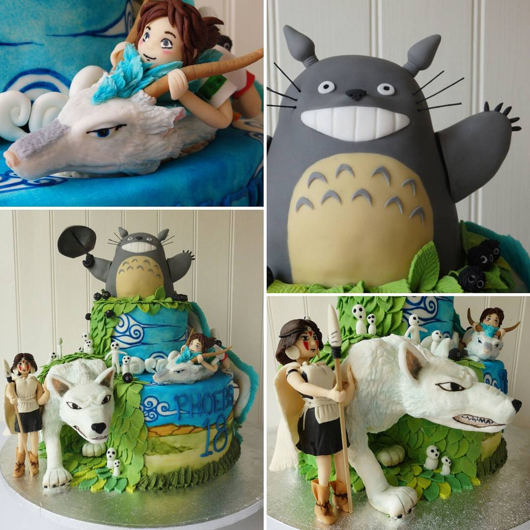 Totoro cake space_mermaidd