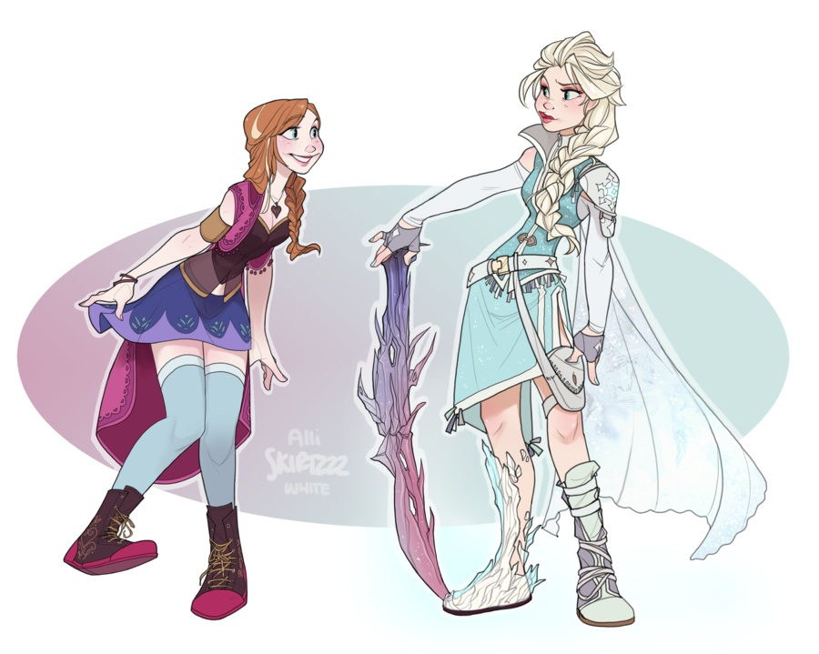 19 Disney Final Fantasy Crossover Fanart 6 - featured