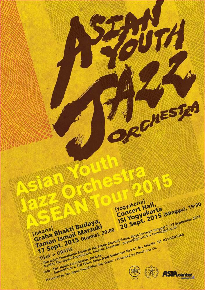 ASIAN YOUTH JAZZ ORCHESTRA AYJO ASEAN TOUR 2015 DIMULAI! (1)