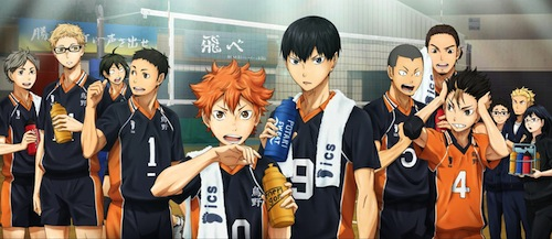 Anime Season Fall 2015 Fans Perempuan - Haikyuu