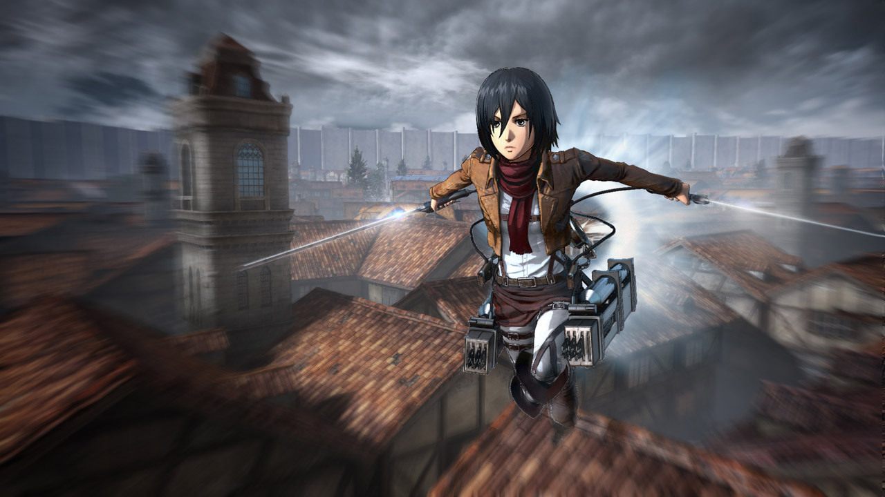 Attack on Titan Shingeki no Kyojin Game