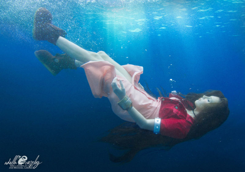 Cosplay Sugoi Final Fantasy VII Cloud Aerith featured
