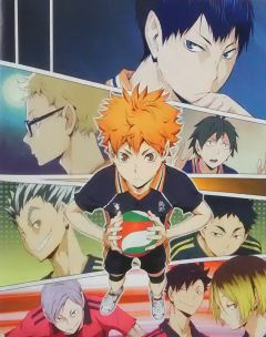 Haikyuu!! Fall Anime Preview prcm.jp