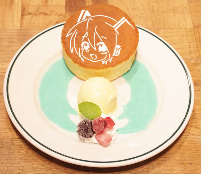 Hatsune Miku Tower Records Cafe 2