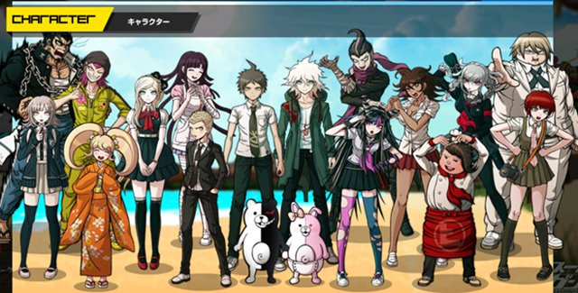 10 Game Anime Anime Polling  - Dangaronpa
