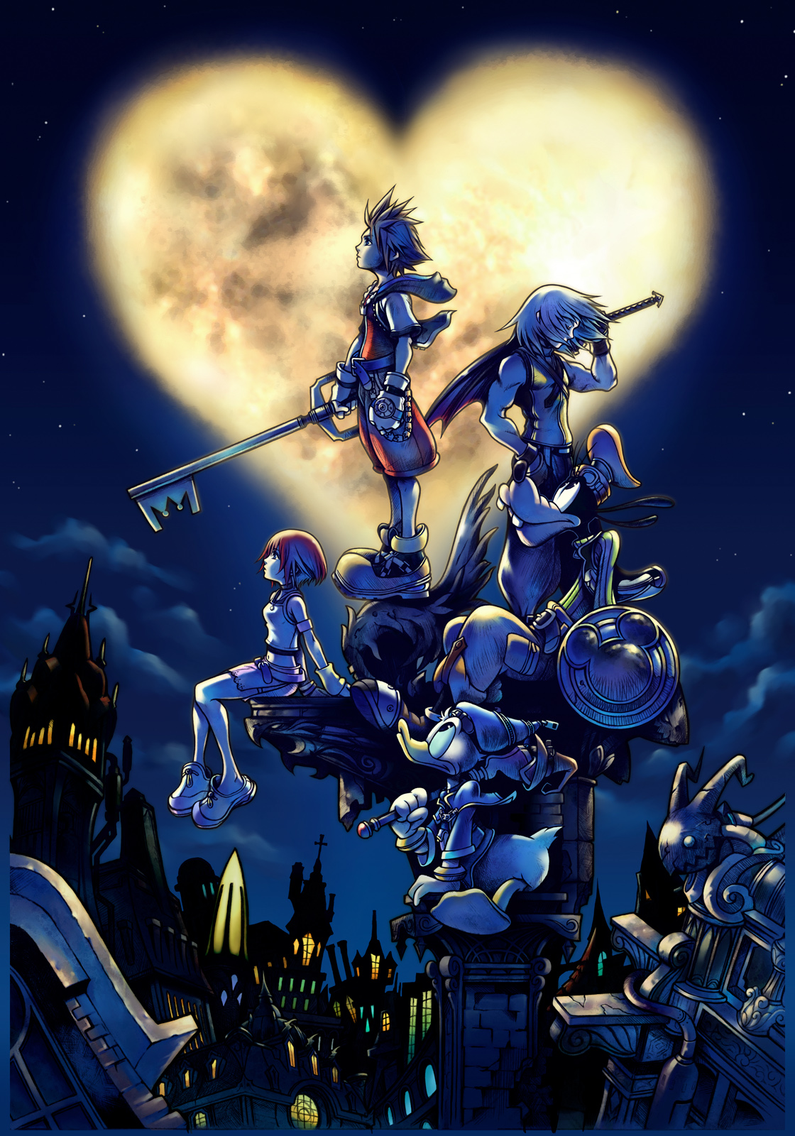 10 Game Anime Anime Polling  - Kingdom Hearts
