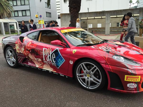 Fate:stay night Ferrari Itasha - plusone_inc 2
