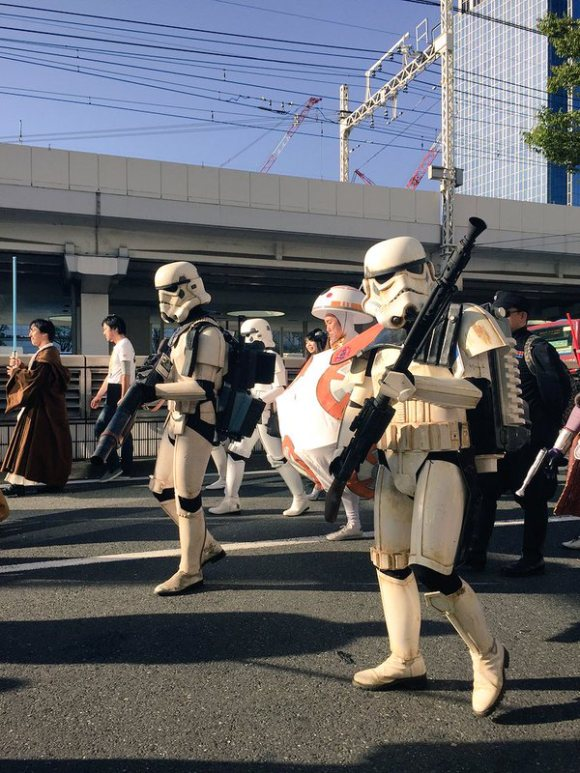 Star Wars Kawasaki Halloween Parade 2