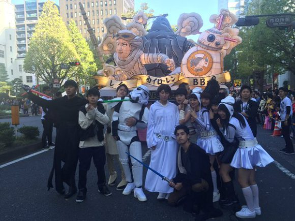 Star Wars Kawasaki Halloween Parade 5