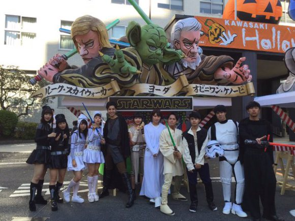 Star Wars Kawasaki Halloween Parade 7