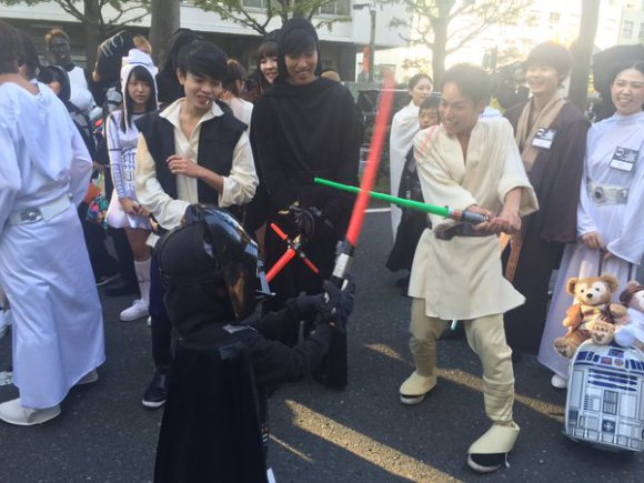 Star Wars Kawasaki Halloween Parade 8