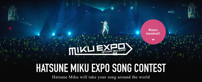Hatsune Miku Expo Song Contest