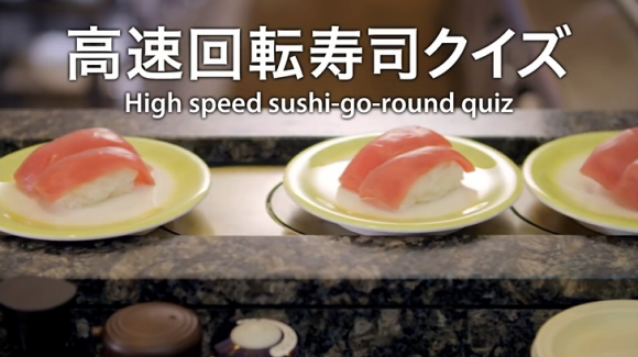 High Speed Sushi-Go-Round Quiz Kaitenzushi