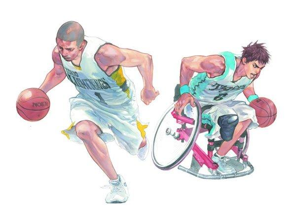 Nippon Foundation 100 Manga - honshu.manga.blogspot - sports