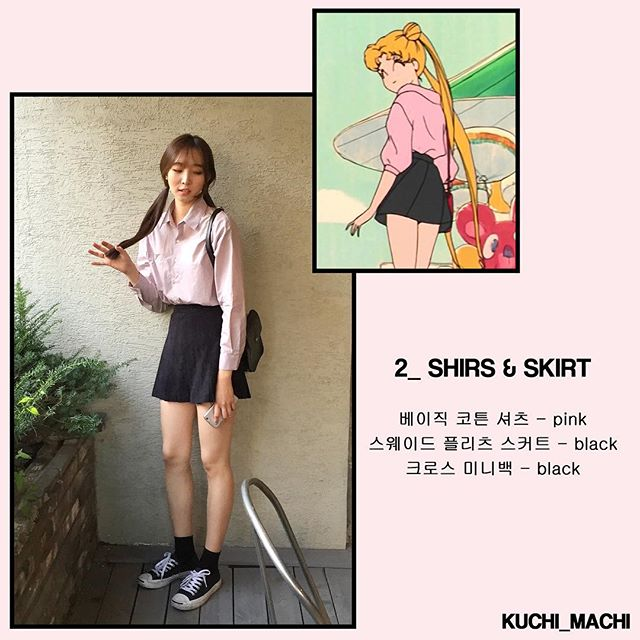 Sailor Moon Fashion Korea 4