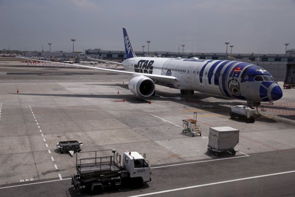 Star Wars R2-D2 ANA JET cover