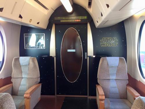 The Force is strong with this one Kereta Star Wars kini telah hadir di Jepang (7)