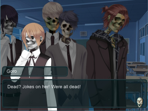 To Love a Skeleton Dating Sim 2
