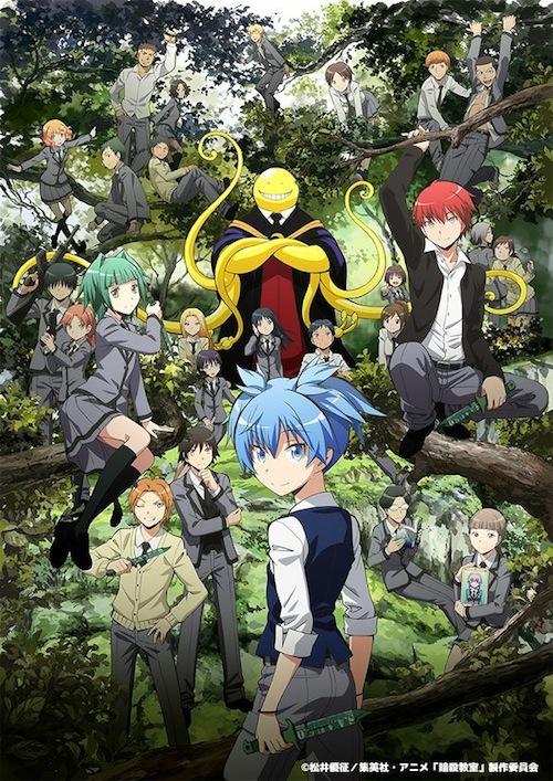 Assassination Classroom Ansatsu Kyoushitsu Season 2 New Visual