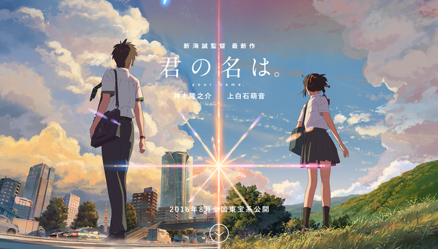 Kimi no na wa Your Name Makoto Shinkai