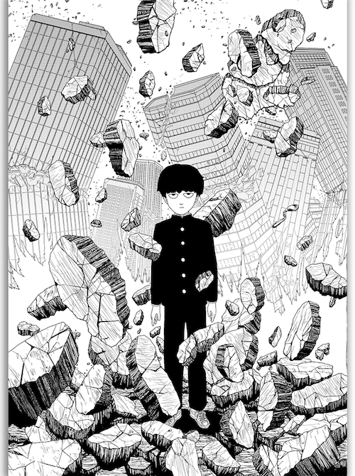 Mob Psycho 100 Mangaka One Punch Man -