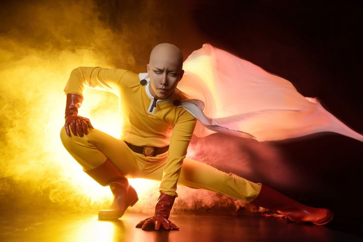 One Punch Man Cosplay 3