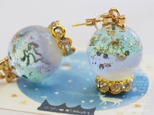 Snow Globe Winter Musim Dingin - mademyu