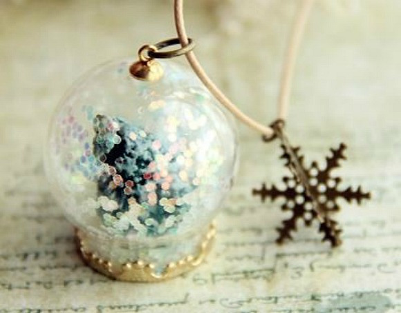 Snow Globe Winter Musim Dingin