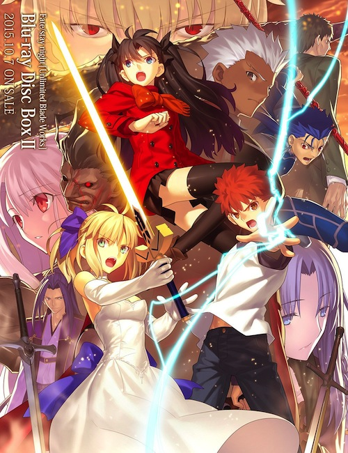 Top 10 Serial Anime Menurut Majalah NewType Edisi Desember 2015 - Fate:Stay Night Unlimited Blade Works