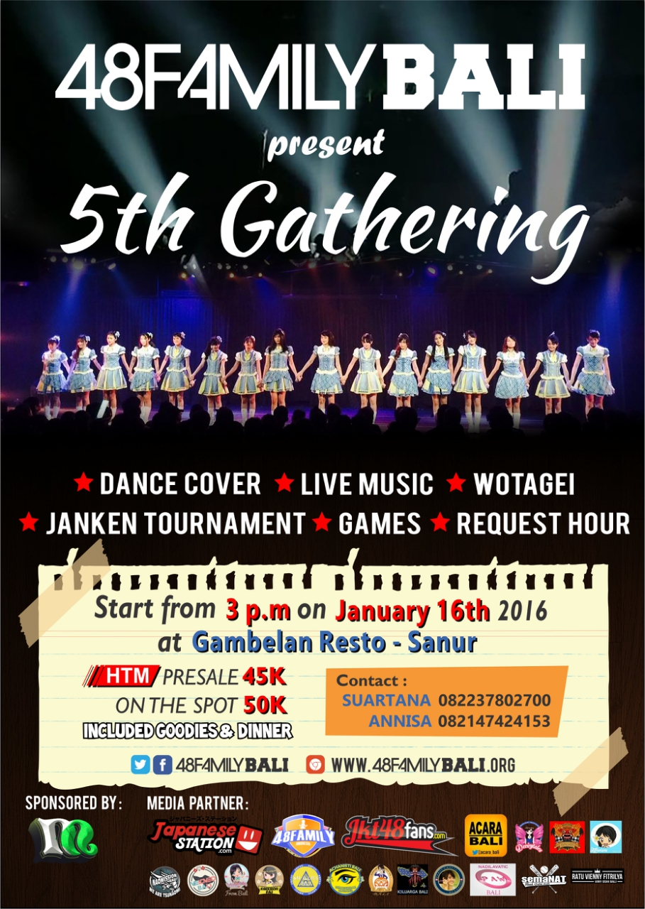 16 Januari 2016 - 5th Gathering 48 Family Bali