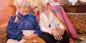 Cosplay Yao Hizuki Aya Taiwan Nenek Howl's Moving Castle