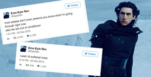 Emo Kylo Ren - hypable.com