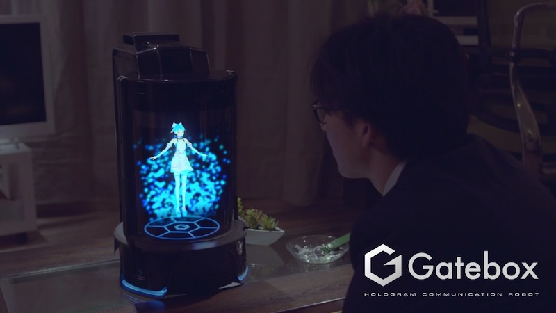 Karakter Hologram Communication Robot Gatebox