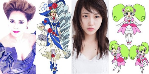 PriPara Movie Dewi Sukarno Rina Kawaei