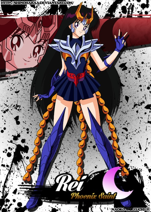Sailor Moon Saint Seiya Fanart 2