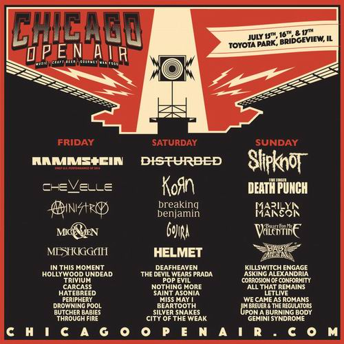 BABYMETAL akan tampil di festival rock CHICAGO OPEN AIR (2)
