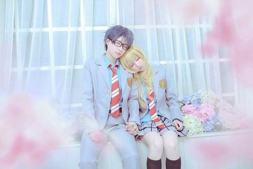 Sugoi! Dua cosplayer ini tampilkan karakter Your Lie in April ke dunia nyata! (2)