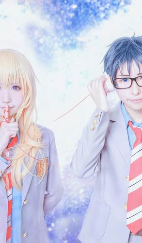 Sugoi! Dua cosplayer ini tampilkan karakter Your Lie in April ke dunia nyata! (3)