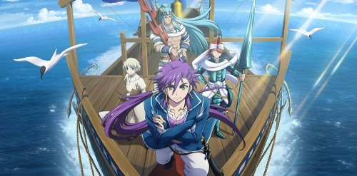 Anime Magi: Sinbad no Bouken rilis video komersial terbaru