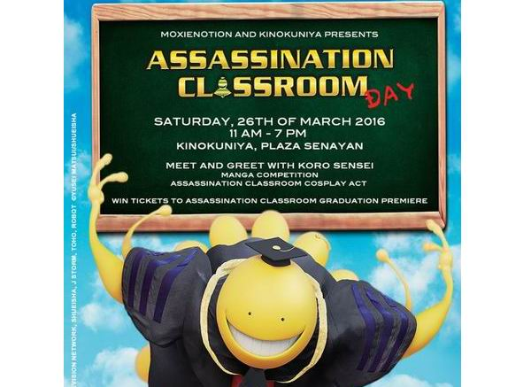 Assassination Classroom Day