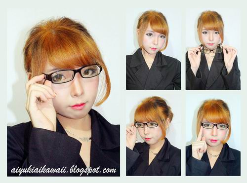 #JSnavigator Aiyuki Aikawa Diary ~ Tutorial Office Lady Hairstyle (1)