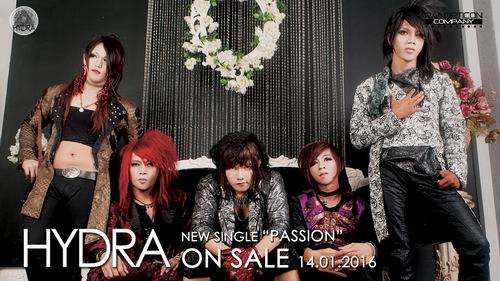 [LOCAL BAND] Band Visual Kei HYDRA Resmi Merilis Video Klip Baru, PASSION