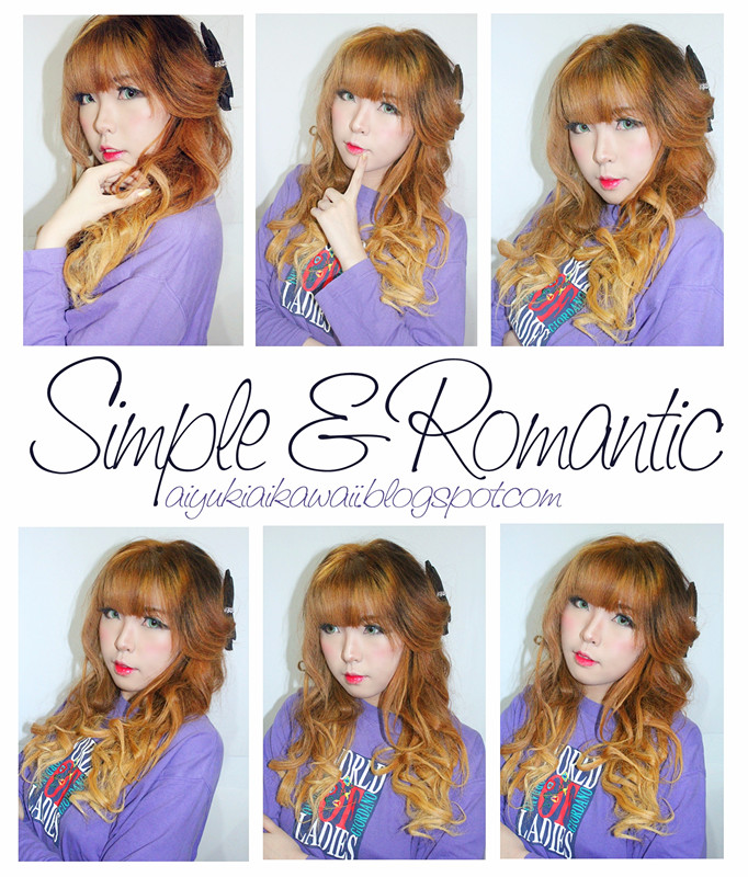 #JSnavigator Aiyuki Aikawa Diary ~ Tutorial Simple & Romantic Hairstyle (2)