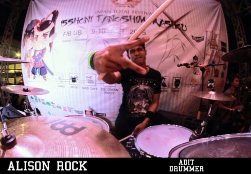 [LOCAL BAND] Alison Rock, Band Emo Rock Japan Dari Pulau Bali (9)