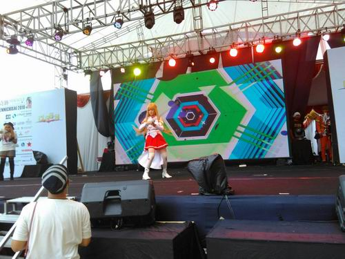Pop Culture Stage Ennichisai 2016 Tampilkan CLASH Seiyuu Contest & CLASH Single Cosplay (15)