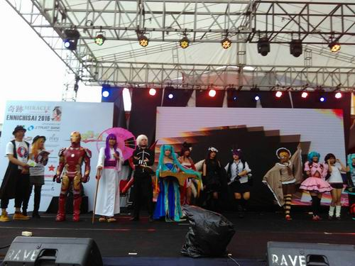 Pop Culture Stage Ennichisai 2016 Tampilkan CLASH Seiyuu Contest & CLASH Single Cosplay (17)