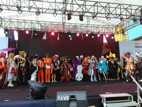 Pop Culture Stage Ennichisai 2016 Tampilkan CLASH Seiyuu Contest & CLASH Single Cosplay (18)