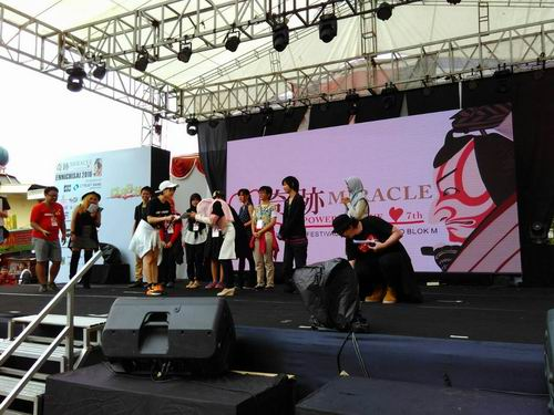 Pop Culture Stage Ennichisai 2016 Tampilkan CLASH Seiyuu Contest & CLASH Single Cosplay (9)