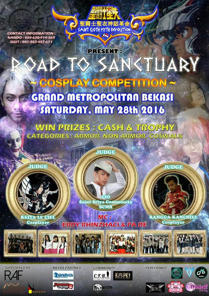 Road to Sanctuary Cosplay Competition